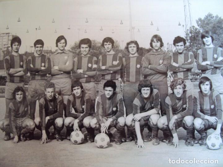 Coleccionismo deportivo: (F-191190)LOTE DE 79 FOTOGRAFIAS CATEGORIAS INFERIORES C.F.BARCELONA - 1956-57 A 1976-77 - Foto 85 - 183922591