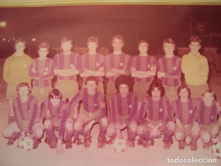 Coleccionismo deportivo: (F-191190)LOTE DE 79 FOTOGRAFIAS CATEGORIAS INFERIORES C.F.BARCELONA - 1956-57 A 1976-77 - Foto 86 - 183922591