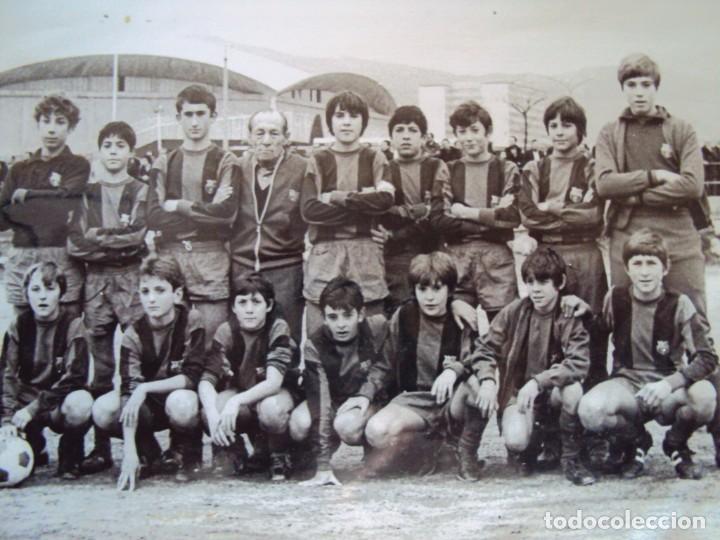 Coleccionismo deportivo: (F-191190)LOTE DE 79 FOTOGRAFIAS CATEGORIAS INFERIORES C.F.BARCELONA - 1956-57 A 1976-77 - Foto 87 - 183922591