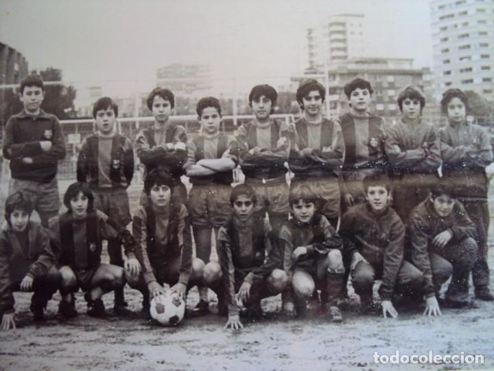 Coleccionismo deportivo: (F-191190)LOTE DE 79 FOTOGRAFIAS CATEGORIAS INFERIORES C.F.BARCELONA - 1956-57 A 1976-77 - Foto 88 - 183922591