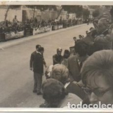 Coleccionismo deportivo: FOTOGRAFIA DEPORTIVA DE SEVILLA: PRUEBA DE MOTOCICLISMO. TAMAÑO 10,4X7,5. FOTSEV-885. Lote 183981228