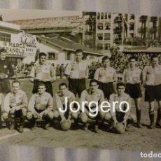Coleccionismo deportivo: C.E. SABADELL. ALINEACIÓN PARTIDO DE LIGA 1943-1944 EN ATOCHA CONTRA R. SOCIEDAD. FOTO. Lote 184775310