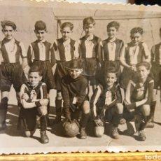 Coleccionismo deportivo: VALLADOLID, COLEGIO SAN JOSÉ. EQUIPO DE FÚTBOL. AÑOS 40.. Lote 186062747