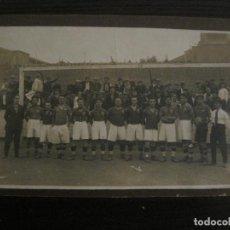 Coleccionismo deportivo: GRACIA FC (BARCELONA)-FOTOGRAFIA DE FUTBOL ANTIGUA-VER FOTOS-(V-18.551). Lote 187112581