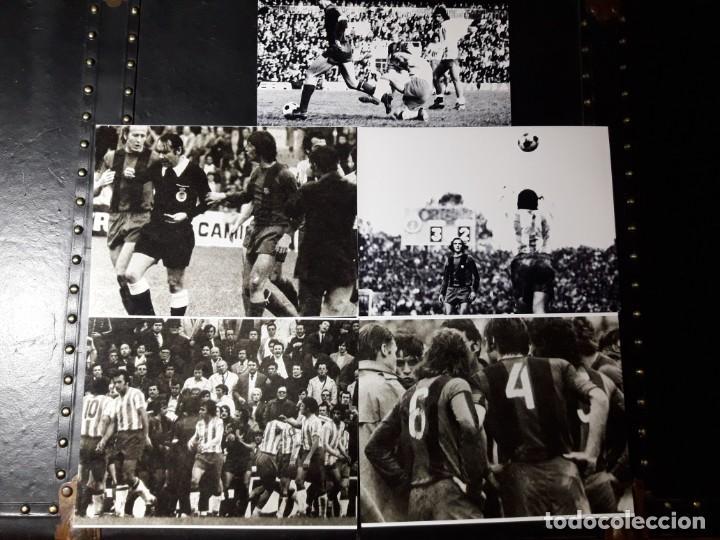 Coleccionismo deportivo: Fotos de expulsión de CRUYFF 1975 - Foto 3 - 188652987