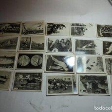 Coleccionismo deportivo: MAGNIFICOS 25 CROMOS ANTIGUOS REPORTAJES GRAFICOS CHICLES TABAY 1948. Lote 189142465