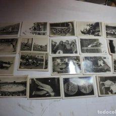 Coleccionismo deportivo: MAGNIFICOS 19 CROMOS ANTIGUOS REPORTAJES GRAFICOS CHICLES TABAY 1948. Lote 189144771