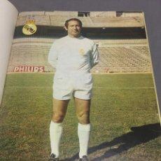Coleccionismo deportivo: REAL MADRID 48 POSTERS REVISTA REAL MADRID AÑOS 70. Lote 189482592