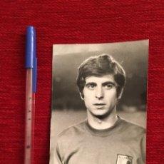 Collectionnisme sportif: R7492 FOTO FOTOGRAFIA ORIGINAL DE PRENSA JUGADOR GIANNI RIVERA (23-3-1970) ITALIA. Lote 189756595