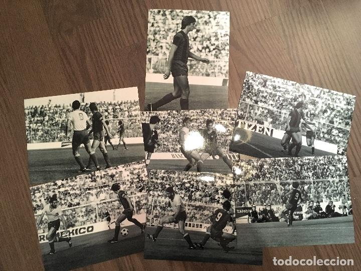 CRUYFF LOTE 7 FOTOS CADIZ-FCB 77 20X15CM (Coleccionismo Deportivo - Documentos - Fotografías de Deportes)
