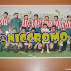 Coleccionismo deportivo: FOTOGRAFÍA DEL ATLÉTICO AVIACIÓN AT MADRID AÑOS 40 REPRODUCION TAMAÑO 30X20. Lote 191997353