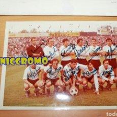 Coleccionismo deportivo: FOTOGRAFÍA DE MAZO RACING DE SANTANDER 1972 1973 CON FIRMAS ORIGINALES 18X12 CMS. Lote 192373846
