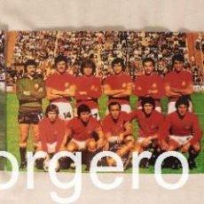 Coleccionismo deportivo: SELECCIÓN ESPAÑOLA DE FÚTBOL. LOTE 3 FOTOS ALINEACIONES EN EL MUNDIAL 1978 DE ARGENTINA. Lote 211879885