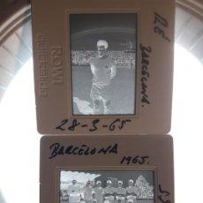 Coleccionismo deportivo: DIAPOSITIVAS DEL BARCELONA 65 Y 75. Lote 192921206