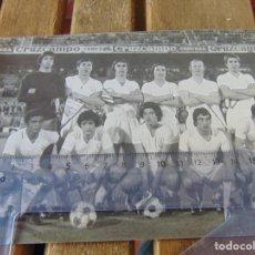 Coleccionismo deportivo: FOTO FOTOGRAFÍA DE FÚTBOL EQUIPO DEL SEVILLA AÑOS 70 FOTO MIGUEL. Lote 192930186