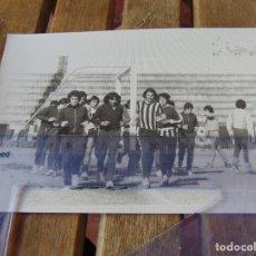 Coleccionismo deportivo: FOTO FOTOGRAFÍA DE FÚTBOL HUGO MODIGO FUE JUGADOR DEL SEVILLA CADIZ HUELVA PALENCIA AÑOS 70. Lote 192952120