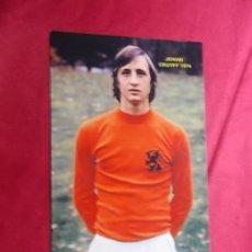 Collezionismo sportivo: FOTOGRAFIA. JOHAN CRUYFF. 1974. Lote 193040610