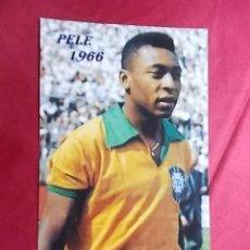 Coleccionismo deportivo: FOTOGRAFIA. PELE 1966. Lote 257572685