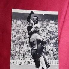 Coleccionismo deportivo: FOTOGRAFIA. PELE. 1970. Lote 257572585