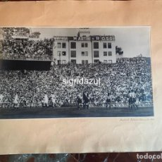 Coleccionismo deportivo: FOTO ORIGINAL ESTADIO CHAMARTIN PUBLICIDAD MARTINI& ROSSI 1948 F.C. BARCELONA. Lote 193427630