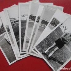 Collectionnisme sportif: LOTE 11 FOTOS FUTBOL HERCULES ALICANTE 66-67 Y 67-68 MIDEN APROX. 9 X 12,5 CM. Lote 193833191