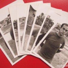 Collectionnisme sportif: LOTE 8 FOTOS FUTBOL ALCOYANO ALCOY ALICANTE 67-68 MIDEN APROX. 9 X 12,5 CM. Lote 193833517