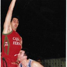 Coleccionismo deportivo: REAL MADRID BASKET ( BALONCESTO ): GRAN FOTO DE SABONIS. 1993. Lote 194111646