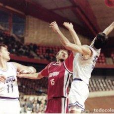 Coleccionismo deportivo: REAL MADRID BALONCESTO ( BASKET ): GRAN FOTO DE SABONIS. 1993. Lote 194111603