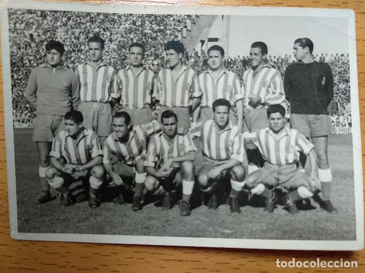 FOTOGRAFIA FUTBOL, EQUIPO ESPAÑOL , ESTADIO DE TORRERO, ZARAGOZA. FOTO MARIN CHIVITE. (Coleccionismo Deportivo - Documentos - Fotografías de Deportes)