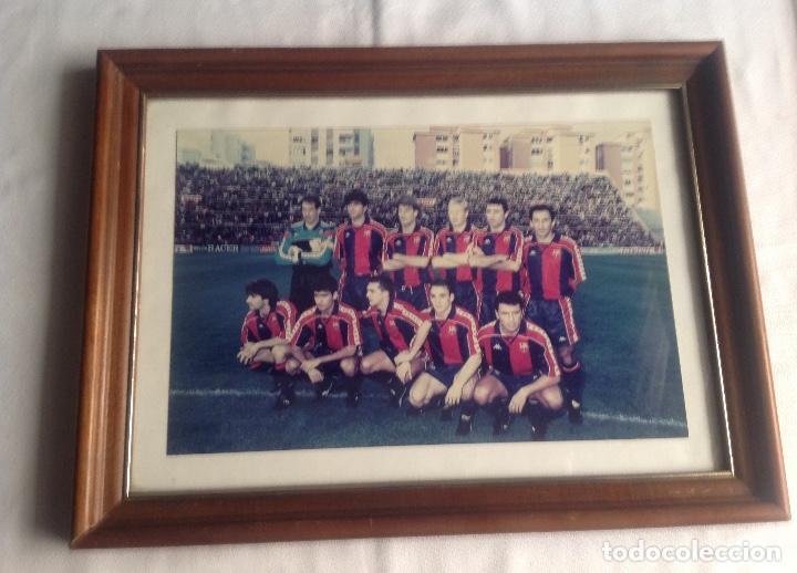 Coleccionismo deportivo: ANTIGUA FOTO FÚTBOL CLUB FC BARCELONA F.C BARCA, CON SU CUADRO. - Foto 17 - 194229662