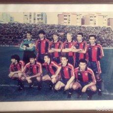 Coleccionismo deportivo: ANTIGUA FOTO FÚTBOL CLUB FC BARCELONA F.C BARCA, CON SU CUADRO.. Lote 194229662