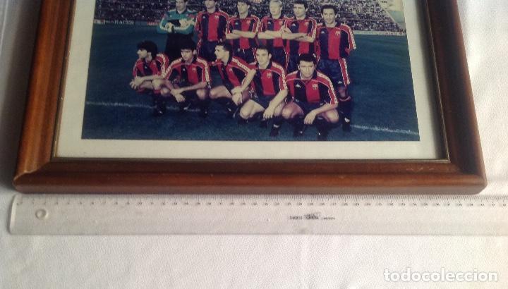 Coleccionismo deportivo: ANTIGUA FOTO FÚTBOL CLUB FC BARCELONA F.C BARCA, CON SU CUADRO. - Foto 8 - 194229662