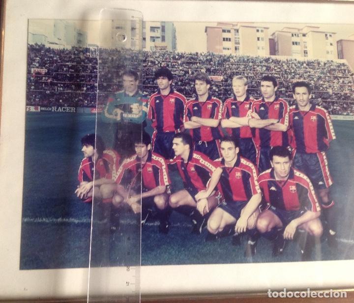 Coleccionismo deportivo: ANTIGUA FOTO FÚTBOL CLUB FC BARCELONA F.C BARCA, CON SU CUADRO. - Foto 10 - 194229662