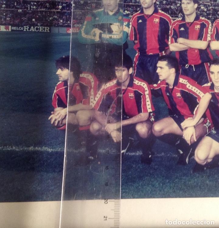 Coleccionismo deportivo: ANTIGUA FOTO FÚTBOL CLUB FC BARCELONA F.C BARCA, CON SU CUADRO. - Foto 11 - 194229662
