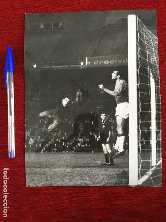 F3326 FOTO FOTOGRAFIA ORIGINAL JOSE RAMON GARCIA FERNANDEZ ATLETICO MADRID 2-0 CORDOBA (12-2-1967) (Coleccionismo Deportivo - Documentos - Fotografías de Deportes)