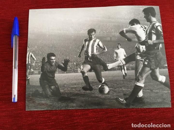 F3327 FOTO FOTOGRAFIA ORIGINAL JOSE RAMON GARCIA FERNANDEZ REAL MADRID 4-0 CORDOBA (25-11-1967) (Coleccionismo Deportivo - Documentos - Fotografías de Deportes)