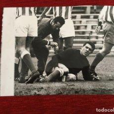 Coleccionismo deportivo: F3328 FOTO FOTOGRAFIA ORIGINAL JOSE RAMON GARCIA FERNANDEZ ATLETICO MADRID 5-0 CORDOBA (21-1-1968). Lote 194401665