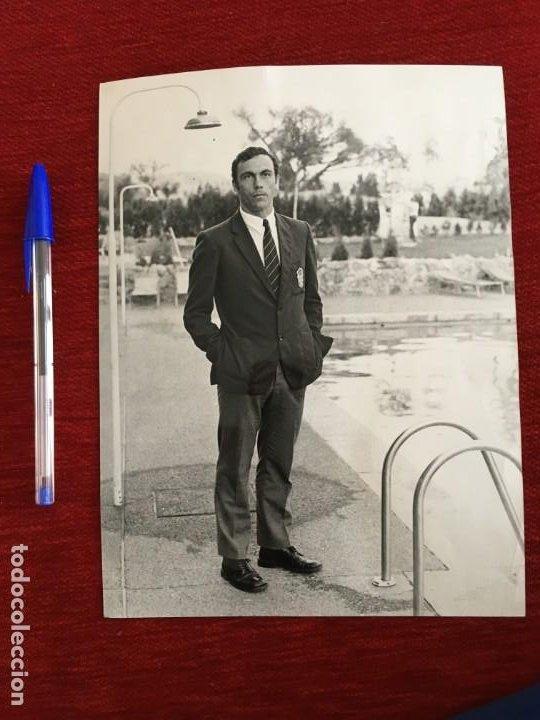 F3330 FOTO FOTOGRAFIA ORIGINAL JOSE RAMON GARCIA FERNANDEZ XEREZ JEREZ (8-11-1972) (Coleccionismo Deportivo - Documentos - Fotografías de Deportes)