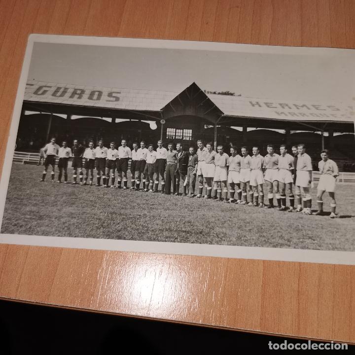 SEMIFINAL DEL CAMPEONATO DEL REAL MADRID C.F. 6/5/1945 (Coleccionismo Deportivo - Documentos - Fotografías de Deportes)