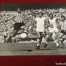 Coleccionismo deportivo: F3361 FOTO FOTOGRAFIA ORIGINAL DE PRENSA SEBASTIAN ALABANDA REAL MADRID 0-1 BETIS (24-4-1977) PIRRI. Lote 194621750