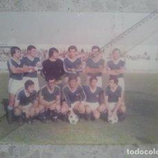 Coleccionismo deportivo: FÚTBOL - LINARES, JAÉN - ANTIGUA E HISTÓRICA GRAN FOTOGRAFÍA DE EQUIPO - CON AUTÓGRAFOS MANUSCRITOS. Lote 194696191
