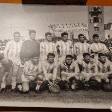 Coleccionismo deportivo: REAL VALLADOLID VIEJO ZORRILLA. AÑOS 60. FOTO ORIGINAL. GRAN TAMAÑO.. Lote 194729045