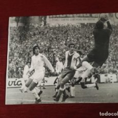 Coleccionismo deportivo: F3391 FOTO FOTOGRAFIA ORIGINAL JUAN MARIA AMIANO ESPANYOL 0-0 REAL MADRID(21-11-1971) GARCIA REMON. Lote 194881100