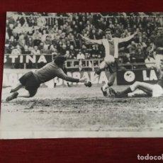 Coleccionismo deportivo: F3392 FOTO FOTOGRAFIA ORIGINAL JUAN MARIA AMIANO ESPANYOL 2-2 REAL SOCIEDAD(8-2-1976)ARAQUISTAIN. Lote 194881238