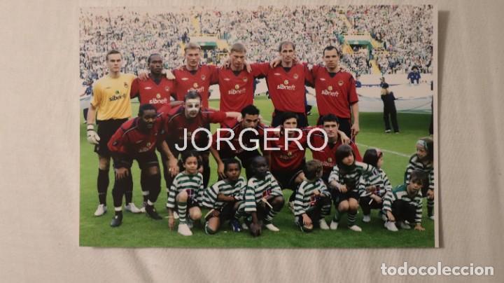 CSKA DE MOSCÚ. ALINEACIÓN CAMPEÓN COPA UEFA 2004-2005 EN LISBOA CONTRA EL SPORTING P. FOTO (Coleccionismo Deportivo - Documentos - Fotografías de Deportes)