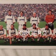 Coleccionismo deportivo: SCHALKE 04. ALINEACIÓN CAMPEÓN COPA UEFA 1996-1997 EN MILÁN CONTRA EL INTER. FOTO. Lote 194901633