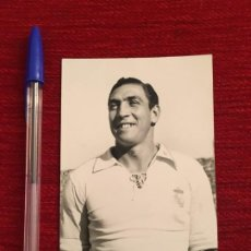 Coleccionismo deportivo: R8075 FOTO FOTOGRAFIA ORIGINAL DE PRENSA JESUS ALONSO FERNANDEZ REAL MADRID. Lote 194935368