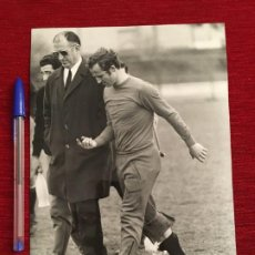 Coleccionismo deportivo: F3484 FOTO FOTOGRAFIA ORIGINAL DE PRENSA GALLEGO BARCELONA SEVILLA. Lote 194968258
