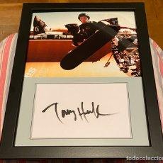 Coleccionismo deportivo: FOTOGRAFÍA TONY HAWK ENMARCADA. Lote 194972713