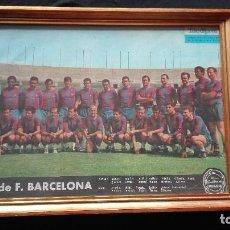 Coleccionismo deportivo: ANTIGUO POSTER F C BARCELONA. Lote 195030110